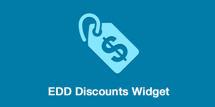 Discounts Widget For Easy Digital Downloads