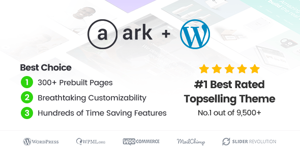 The Ark – Multi-Purpose WordPress Theme