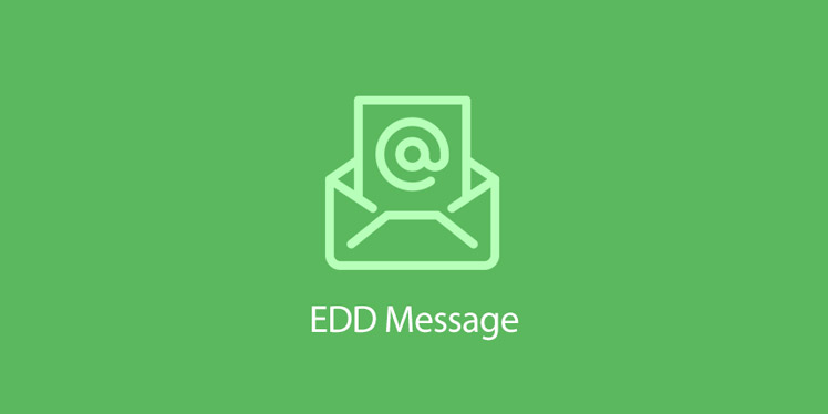 EDD Message For Easy Digital Downloads