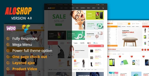 Alo Shop - Mega Market RTL Responsive WooCommerce WordPress Theme